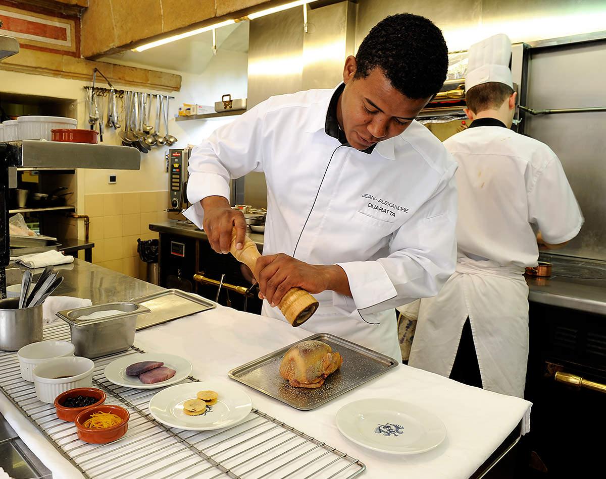 Restaurant Kitchen Alexandre Ouaratta The Chef